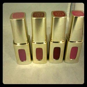 4 L'Oreal Colour Riche Lip Color